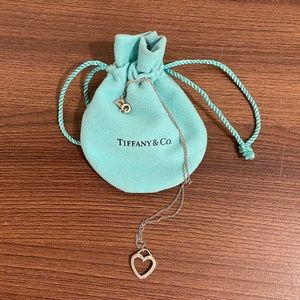Tiffany & Co. Necklace with Open Heart Pendant